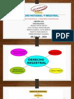 Derecho notarial principios registral - GRUPO 06 B