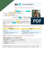 Licao 1. Presente Simples