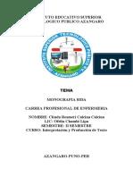 monografia de VIH DE lima
