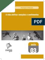 A VIDA AFETIVA EMOÇÕES E SENTIMENTOS.pdf