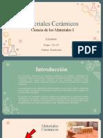 Materiales Cerámicos 1