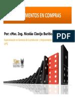 presentacion GESTION DE COMPRAS UPTC ING NICOLAS CLAVIJO