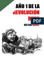 Victor Serge. El año I de la Revolucion Rusa