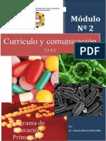 MÓDULO 2 DE Curríc.Comun-V CICLO-PRIMARIA