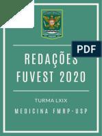 Redações FUVEST 2020 - FMRP