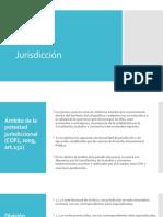 JURISDICCIÓN Y COMPETENCIAS COFJ