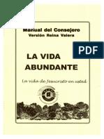 406042634 La Vida Abundante Manual Del Maestro PDF