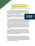 philosophy 1120  social ethics  e portfolio assignment part ii  1