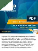 Sustentación POA Modelación Ambiental Victor Martinez