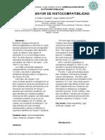 Artículo Complejo Mayor de Histocompatibilidad