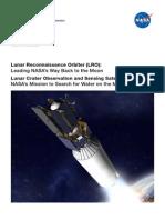 Lunar Reconnaissance Orbiter Lunar Crater Observation and Sensing Satellite Press Kit