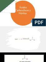 Ácidos Carboxílicos y Nitrilos