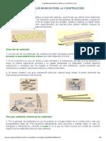 Apuntes de Materiales Básicos para la Construcción