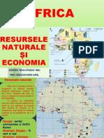 AFRICA –RESURSELE SI ECONOMIA-2020