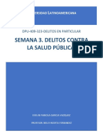 SEMANA 3. DELITOS CONTRA LA SALUD PÚBLICA