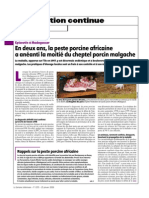 Classical Swine Fever Madagascar-SemaineVeterinaire