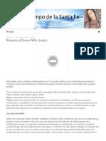 Tiempo De La Santa Fé_ Rosario al Divino Niño Jesús.pdf