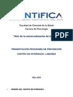 PRESENTACIÓN INTRODUCCIÓN- PROGRAMA DE PREVENCIÓN- 2020-1.docx