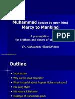 Prophet Muhammed Mankind
