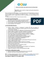 Recrutement GESTIONNAIRE RH