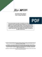 2001 Cold War DBQ- Scoring Guidelines