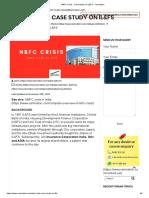 NBFC Crisis - Case study on IL&FS - Xamnation.pdf