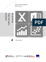 (Manual) UFCD 0757 - Folha de Cálculo