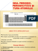 Sistemul periodic, legea periodicității cl.9