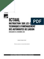 ICTAAL Instruction sur les conditions techniques daménagement des autoroutes de liaison (déc2000).pdf