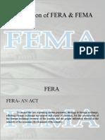 FERA AND FEMA