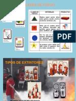 Clase de fuegos