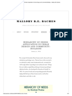 Hierarchy of Needs_ Application in Urban Design and Community-Building — Mallory B.E. Baches
