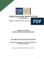 BA-English courses