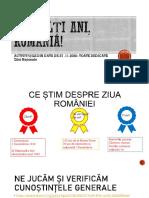 La multi ani  Romania - de postat