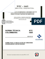 EXPOSICION NORMATIVA NTC-1669