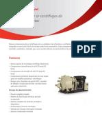 Compressores de ar centrífugos de alta pressão Centac