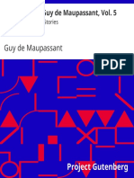 the works of guy de maupassant, vol. 5 une vie and