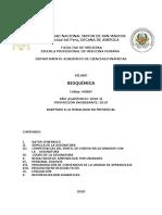 Silabo - Bioquimica - Mo007 - Ep Medicina Humana