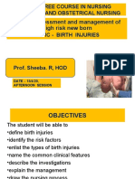 OBG - 15.4.20  (AFTERNOON) UNIT 10 - BIRTH INJURIES.ppt