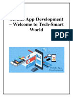 Mobile App Development – Welcome to Tech-Smart World