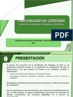 Programa MVZ 2011