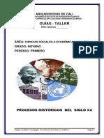 guías - taller - Fundaciones Educativas De La Arquidiócesis De Cali