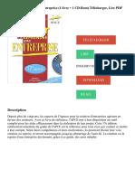 Créer ou reprendre une entreprise (1 livre + 1 CD-Rom) Télécharger, Lire PDF
