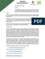 6.1 Fondo Monetario Internacional