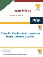 Cardinalidad C19