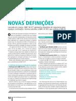 - Espaços Confinados - Novas Definições - CIPA 467