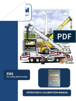 EI65 LinkBelt-Operators, Calibration Manual-English