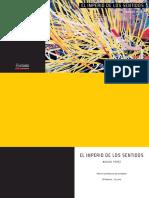 EL IMPERIO DE LOS SENTIDOS- Manuel Perez 2015 Catálogo