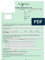 Feb 09 Visa Re Entry Form