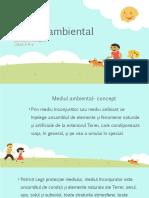 Mediul ambiental